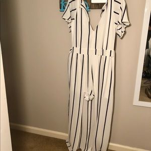 NWT Maxi Dress with Shorts